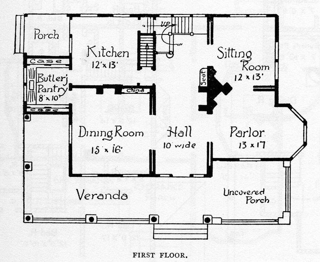 Victorian House Plans Decoration