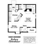 Victorian House Plans Isabelle Associated Designs