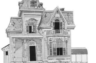 Victorian Houses Drawings House Drawing