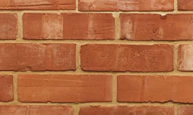 Victorian Orange Wirecut Bricks