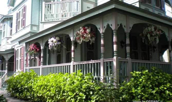 Victorian Porches Style Homes Cape May