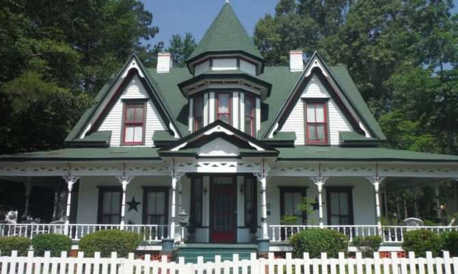 Victorian Queen Anne Maxton North Carolina Oldhouses