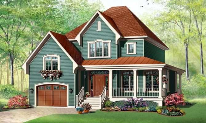 Victorian Style Ranch Home Plans Design