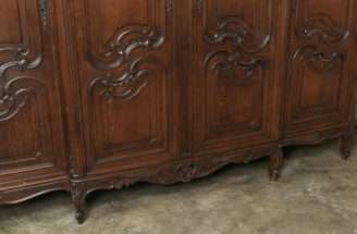 Vintage Country French Four Door Armoire Stdibs