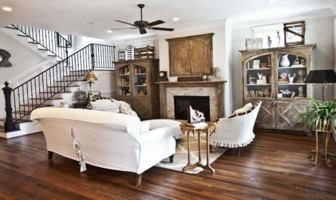 Vintage Decor Ideas Bedrooms French Farmhouse Living Room