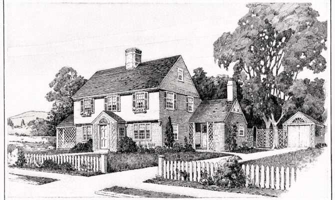 Vintage House Floor Plans Clip Art Old Design Shop Blog