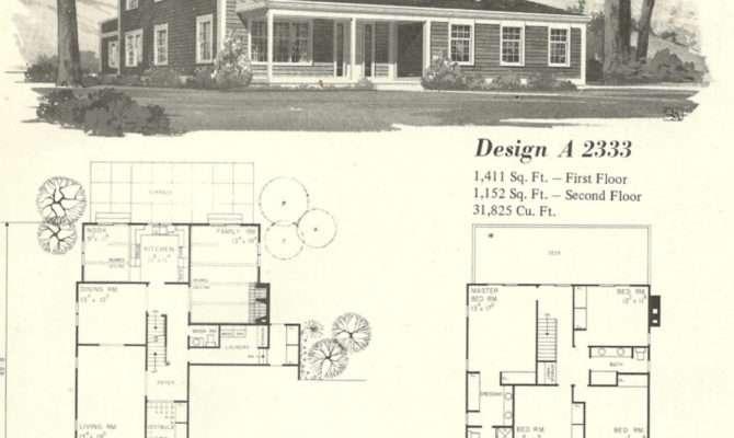 Vintage House Plans Farmhouse Antique Alter Ego