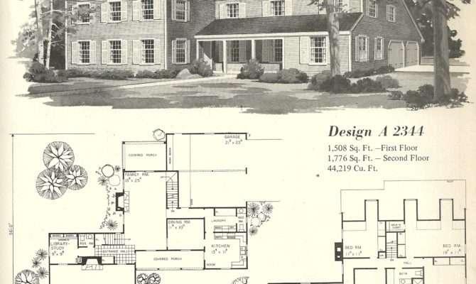 Vintage House Plans Farmhouse