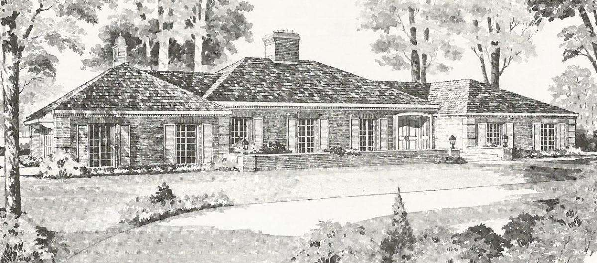 Vintage House Plans French Country Tudor Styles