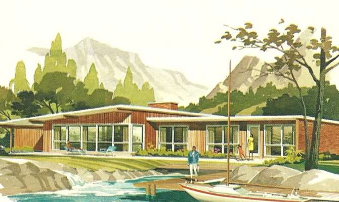 Vintage House Plans Vacation Homes Antique Alter Ego