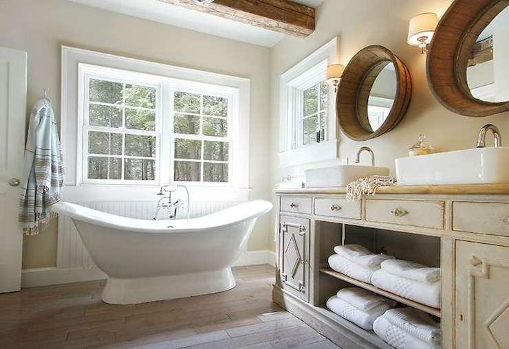 Vintage Washstand Cottage Bathroom Orrick Company