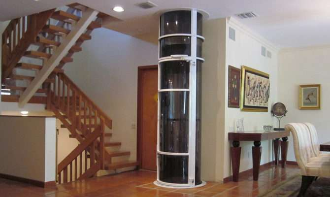 Vision Elevator Pneumatic Glass Small Home Elevators