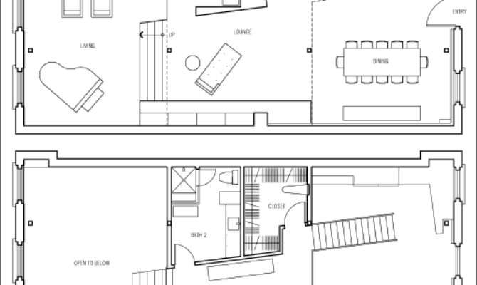Walk Closet Floor Plan