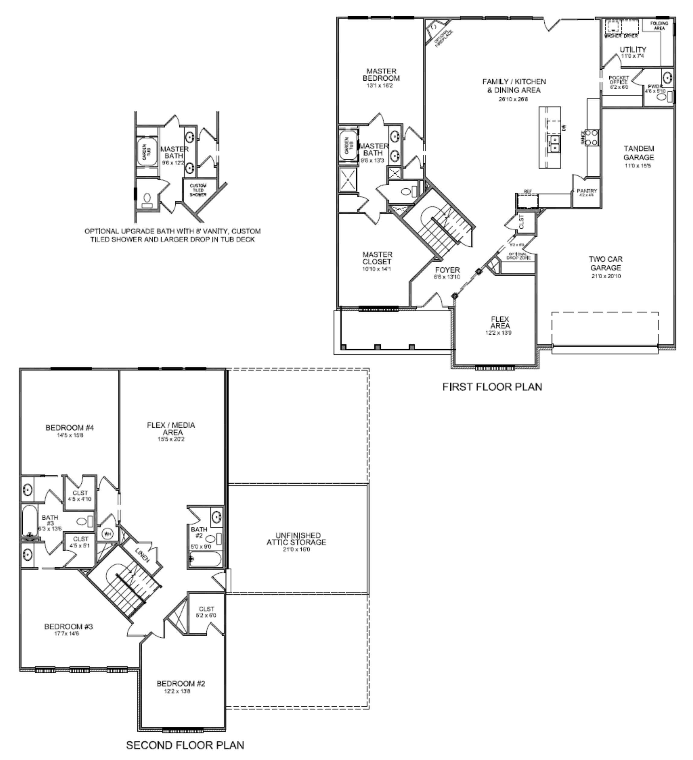 Walk Closet Floor Plans