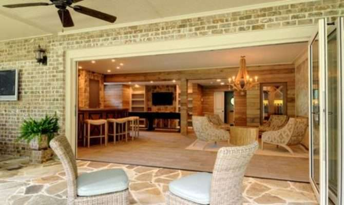 Walk Out Basement Patio Home Design Ideas