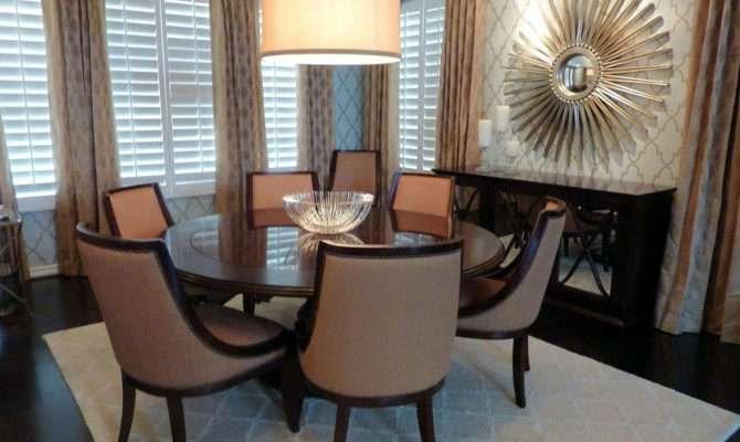 Wall Decor Luxurios Formal Dining Room Ideas