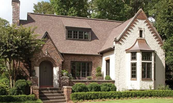 Warm English Cottage Style Architecture House