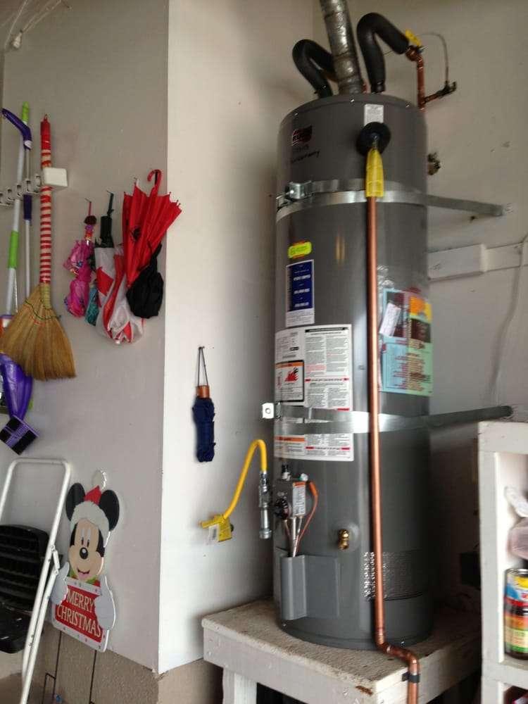Water Heater Code Upgrades Gas Valve Flex Drip