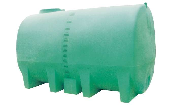 Water Tanks Horizontal Mobile Plastic Tank