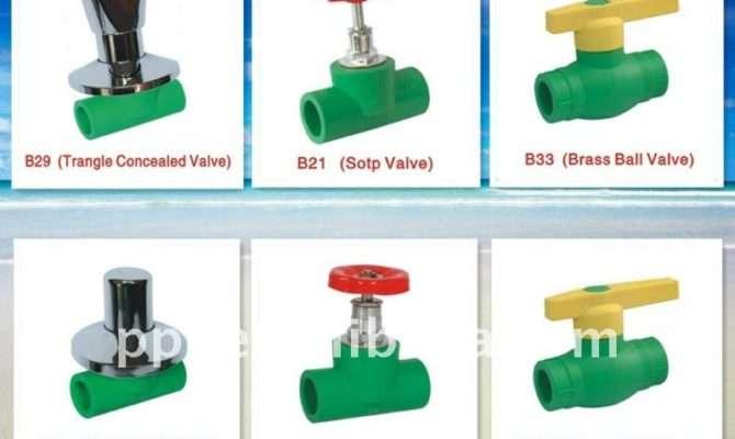Water Valve Types