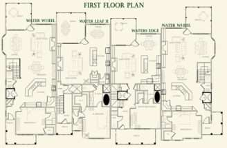 Waterfront Floor Plans House Home Designs