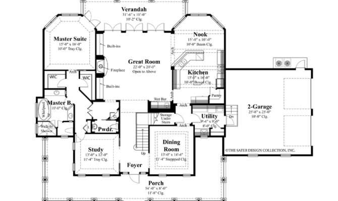 Waterfront Floor Plans