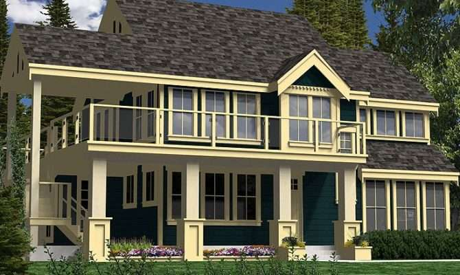 Waterfront Home Plans Two Story House Plan