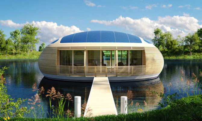Waternest Eco Friendly Floating House