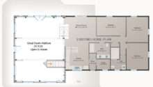 Waterview Great Room Addition Post Beam Floor Plan