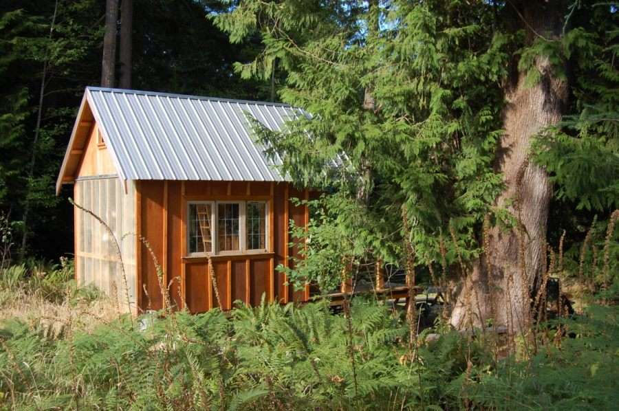 Weekend Fun Tiny Rustic Cabin Small House Bliss