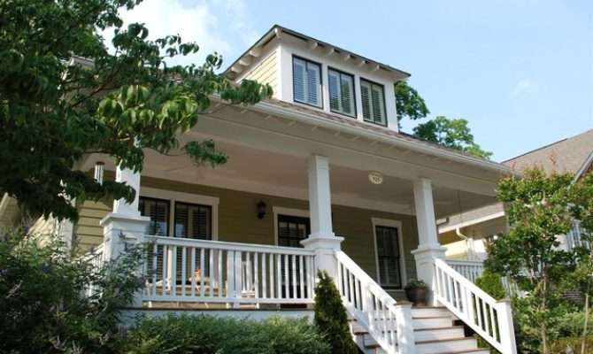 Welcoming Bungalow Front Porch Craftsman