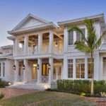 West Indies House Plan Story Caribbean Beach Home Floor