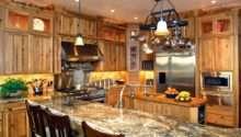 Western Kitchen Design High Mountain Style Stylish Home