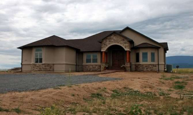 Western Ranch Style Homes Home Design