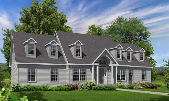 Westport Cape Style Modular Homes