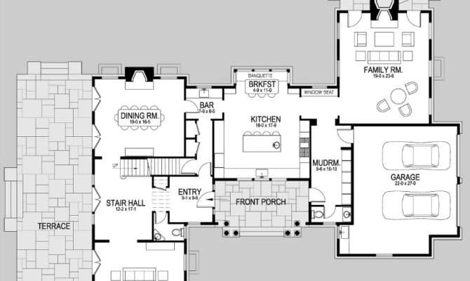 Wheeler Bay Shingle Style Home Plans David Neff