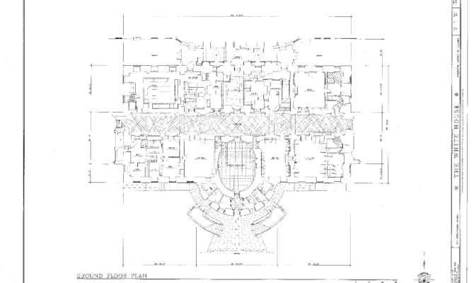 White House Floor Plan History Design Plans