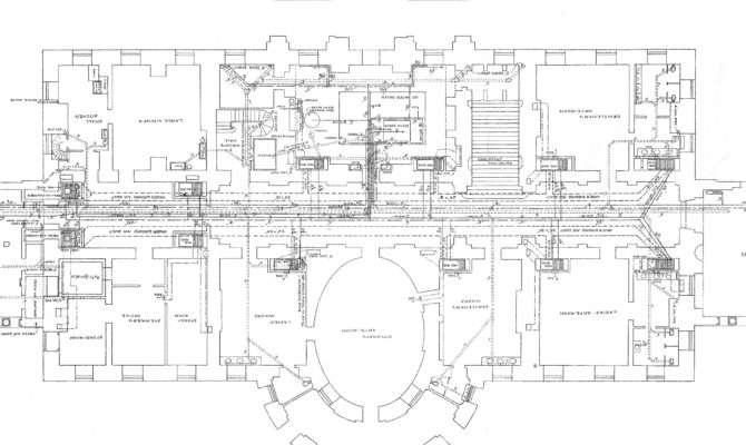 White House Floor Plan Layout