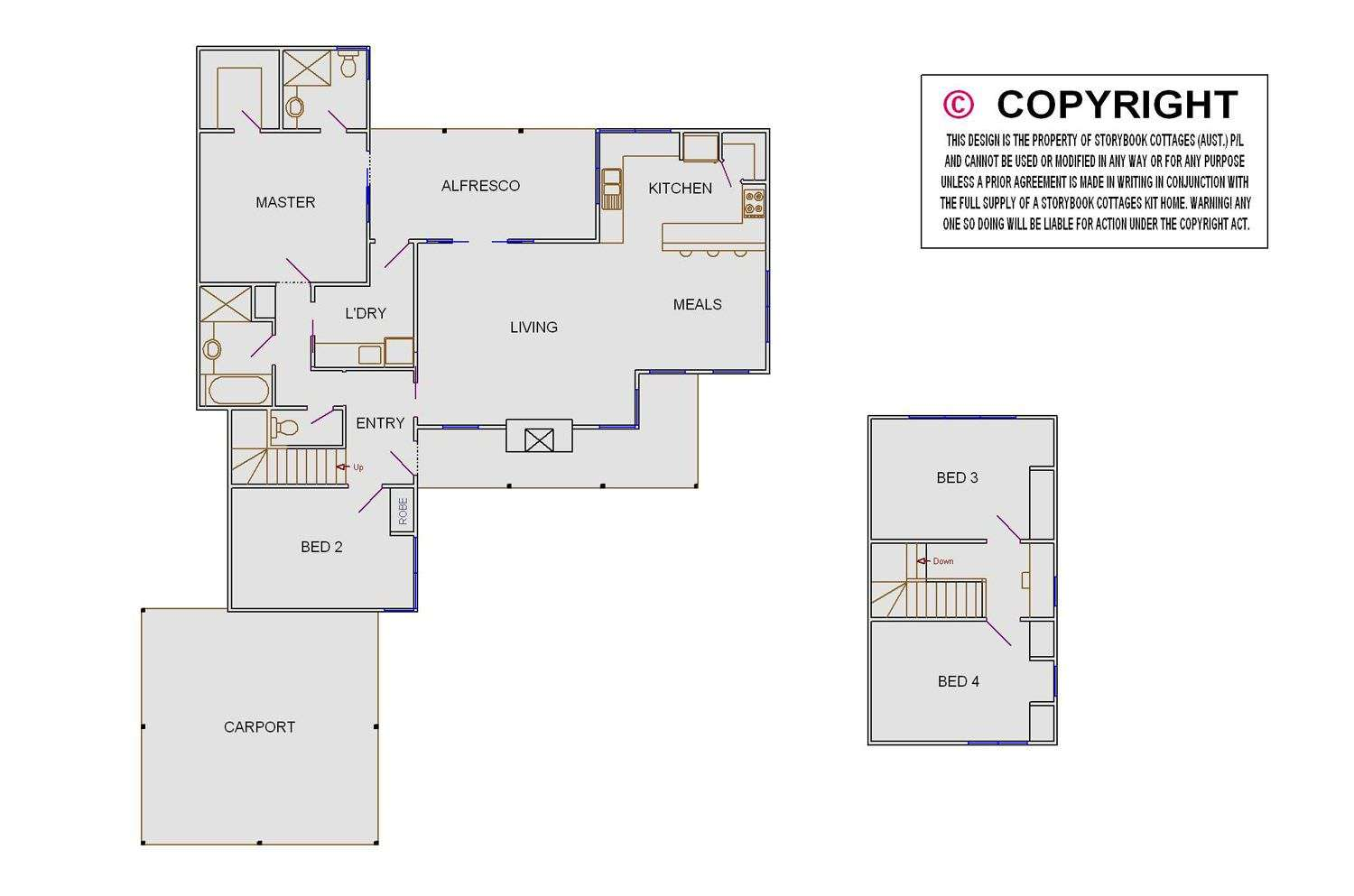 White House Floor Plan Storybook Designer Homes