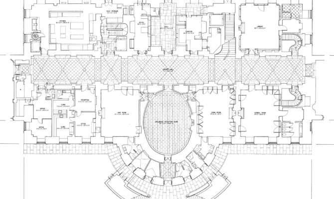 White House Floor Plans Washington