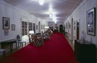 White House Rooms Ground Floor Hall Entrance Second