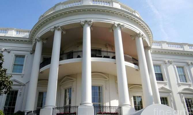 White House South Portico Photograph Weidman
