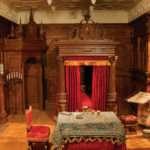 Whittling Wood Carving Tudor Bedroom National Museum