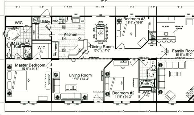 Wide Mobile Homes Bathrooms Cape Plans Everglade Home Floor