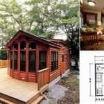 Wilderness Log Cabin Home Design Garden Architecture