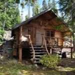 Wilderness Log Cabin Survival Cabins