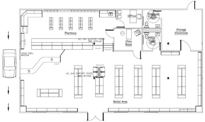 Wilkins Builders Modular Buildings Pharmacies Retail Stores
