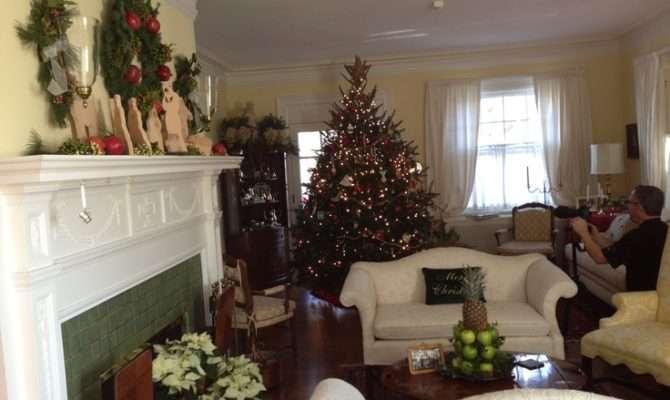 Williamsburg Style Christmas Indoor Decorating Pinterest