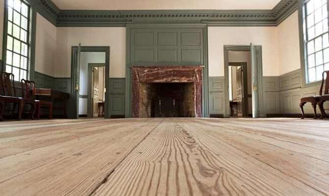 Williamsburg Style Hardwood Flooring Loved Vintage American Home