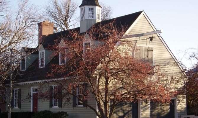 Williamsburg Style Home Pinterest